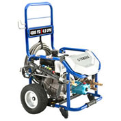 Yamaha Portable Pressure Washer, 4000 PSI 4.0 GPM Triplex CAT Pump 357cc OHV CARB Approved, PW4040A