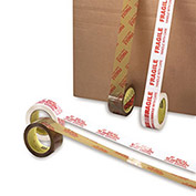 "3M Scotch Brand Carton Tape, 2"" X 110 Yards, 1.9 Mil, Fragile Handle With Care - Pkg Qty 36"