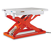 "All Electric Premium Lift Tables, 2200-Lb. Capacity, 31.5""Wx47.2""D Platform"