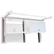 Tiltable Shelf For Pedestal Workbenches