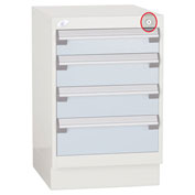Optional Lock For Pedestals - For Multi-Drawers