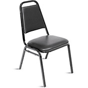"REGENCY Vinyl Upholstered Cafeteria Chair - 17x17x32-1/2"" - Pkg Qty 4"