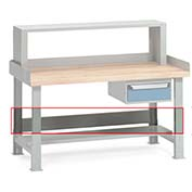 "72""L Stringer For Rousseau Premium-Quality Workbenches"