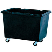 Techstar Plastics Recycled Material Handling Carts, Smooth Walls, Plywood Base, 31Wx43Dx33H