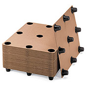 Corrugated Pallets, 9 Legs - Pkg Qty 10