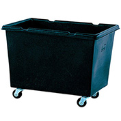 Techstar Plastics Recycled Material Handling Carts, Smooth Walls, Plywood Base, 29Wx41Dx31H