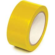 "Self-Adhesive Vinyl Safety Tape, 4""Wx108'L, Yellow - Pkg Qty 2"