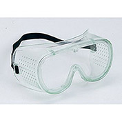 Polycarbonate Goggles, Indirect Vent, Clear - Pkg Qty 3