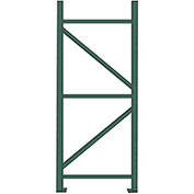 "HUSKY Pallet Rack Upright Frame - 36x144"" - Heavy Load"