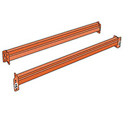 "Pallet Rack Solid Beam, 108X3"", Regular Duty"