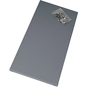 """EDSAL Extra Shelf for Economical Open and Closed Steel Shelving - 36x24"""" - Gray"""