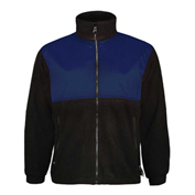 Viking Tempest Fleece Jacket, L, Black/Navy