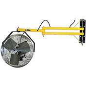 "TPI Dock Fan - 18"" Diameter -1/8 HP - 115V - 60"" Arm Length"