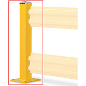 """WILDECK Wilgard Two-Rib Protective Railing System - Standard Post - Double Post - 44""""H"""