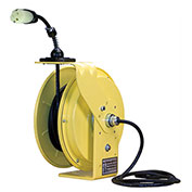 30' 12/3 SOW Cable Cord Reel W/ 15A Single Outlet, LE9530123S2