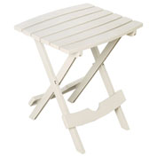 Quik Fold Side Table, White