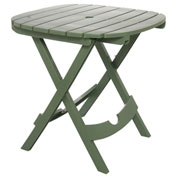 Quik Fold Cafe Table, Sage