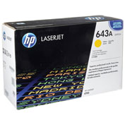 HP Original LaserJet Toner Cartridge, 643A Q5952A, Yellow, Up to 10,000 Pages