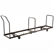 Chair Cart for Folding Chairs 50 Chair Capacity, Vertical Stack