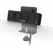 Balt Table Clamp Mount Power Outlet & USB Charger (66675)