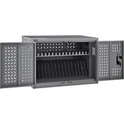 Chromebooks Laptops and iPad Tablets Charging Cabinet, 16-Device Capacity