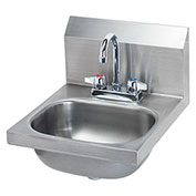 "Krowne 16"" Wide Hand Sink with Deck Mount Faucet, HS-18"