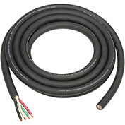 25' L Cable SO 6/4 Wire For Salamander Heater, With Terminals