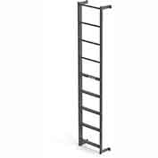 EGA DS5 Steel Side Step, Dock Ladder, 5 Step, Gray