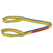 "Polyester Eye & Eye Web Sling w/Durable Edge, 3'L x 1""W"