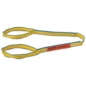 "Polyester Eye & Eye Web Sling w/Durable Edge, 4'L x 1""W"