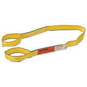 "Polyester Eye & Eye Web Sling w/Durable Edge, 6'L x 2""W"