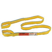 "Polyester Eye & Eye Web Sling w/Durable Edge, 10'L x 2""W"