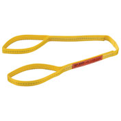 "Polyester Eye & Eye Web Sling, Light Duty, 4'L x 1""W"