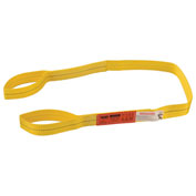 "Polyester Eye & Eye Web Sling, Light Duty, 6'L x 2""W"