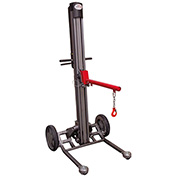 Magliner LPS4814NY1 LiftPlus Folding Battery Powered Lift Truck - Arbor & Boom Chain