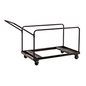 Multi-Use Table Transport Dolly Cart, 10 table capacity