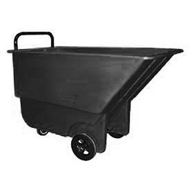 Bayhead 1/3 Cubic Yard Tilt Truck, Light Duty, 275 Lb. Capacity, Black