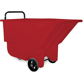 "BAYHEAD Haul-All Tilt Trucks - 26""Wx48""Dx30""H - 275-Lb. Capacity - Red"