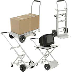 Steel Multi-Function 5-in-1 Convertible Hand Truck