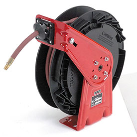 Air/Water Hose Reel Retractable Medium Duty Composite, 1/4 x 50' Hose, 300psi