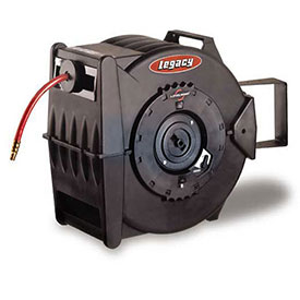Legacy Levelwind 3/8In. X 50Ft. Retractable Air Hose Reel, L8305