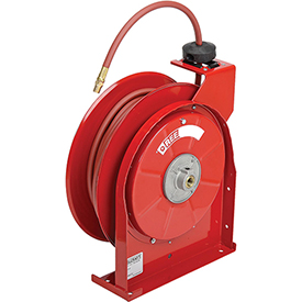 """Spring Driven All Steel Compact Hose Reel, 1/4"""" X 50' Hose"""