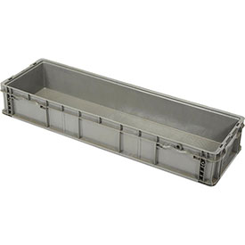 "ORBIS StakPak Long Box - 48x15x7-1/2"" - Gray"