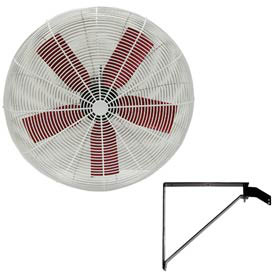 "Multifan 30"" Wall Mount Basket Fan 1/2 HP 10000 CFM"