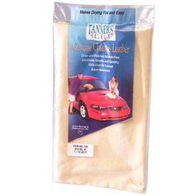 Tanner's Select Natural Chamois, 1-1/2 Sq. Ft., 6/Pk