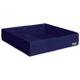 """DQE Disposable Collection Pool, Blue, 5'L x 5'W x 13""""H"""