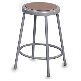 "Shop Stool - 30"" Seat Height - Masonite Seat without Backrest"