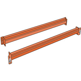 "HUSKY Pallet Rack Solid Beam - 96x4"" - Regular Duty"